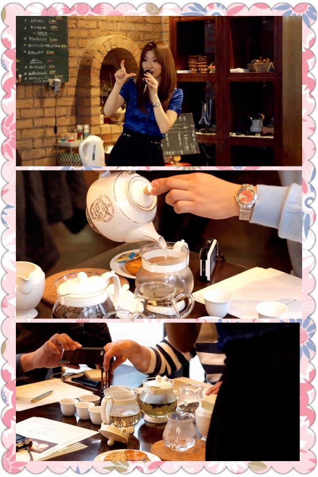 お茶イベントのお知らせのイメージ写真